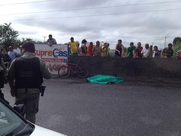 Metalúrgico morreu quando seguia para o trabalho em Teresina (Foto: Gustavo Almeida/G1)
