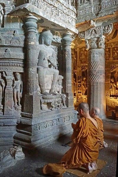 Stupa in Ajanta