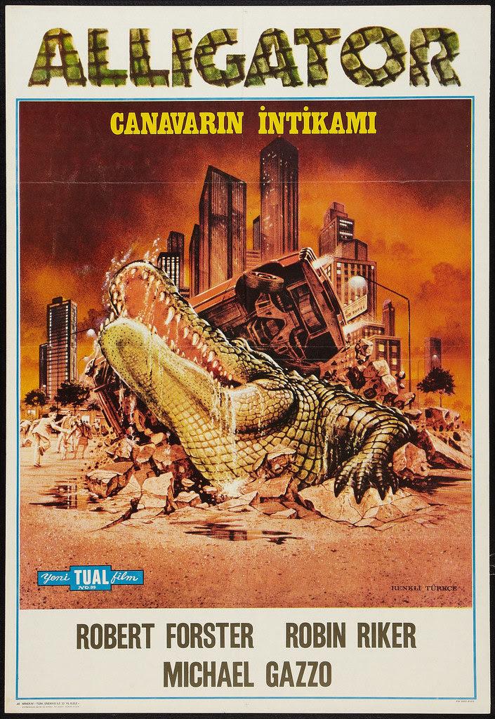 Alligator (BLC, 1980) Turkish Poster