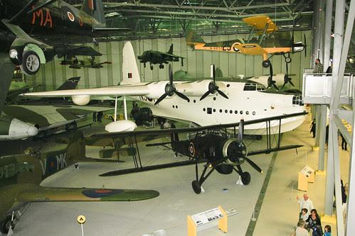 ML796 (Sunderland) and NF370 (Swordfish)