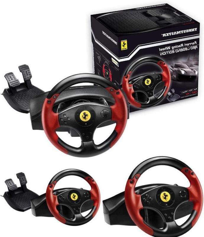 Thrustmaster Vg Ferrari Racing Wheel Red Legend