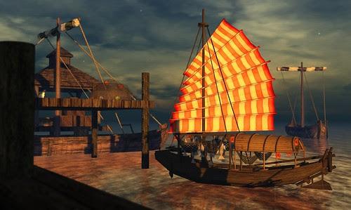 Where's Dim Sum? #160 - Sampan sail