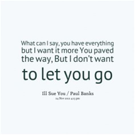 Dont Want You Back Quotes