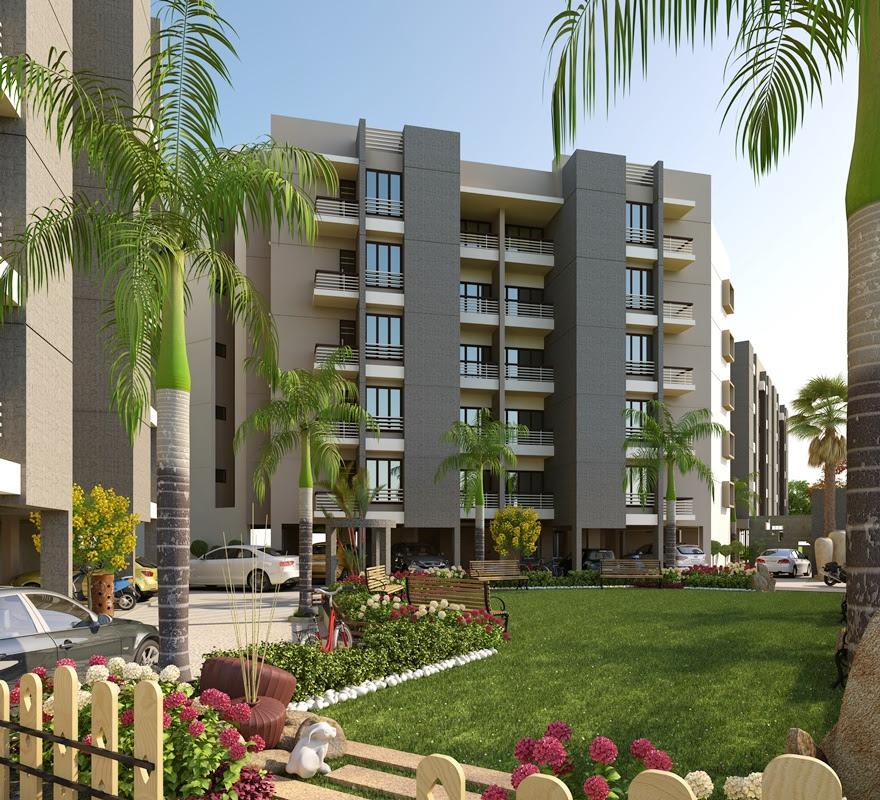 modern luxury apartment exterior design o