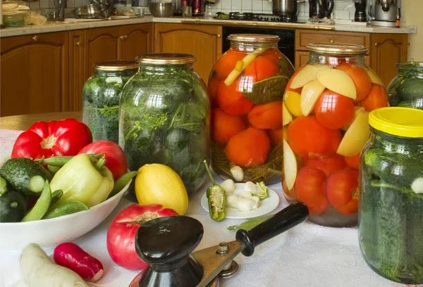 Αποτέλεσμα εικόνας για κονσερβοποιηση λαχανικων στο σπιτι