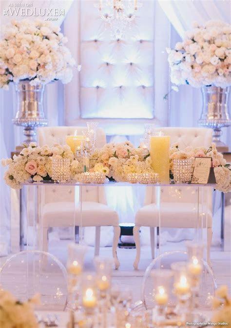 21 Sweetheart Table Ideas for Weddings   Sweetheart table