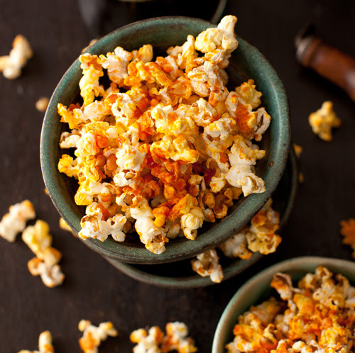 Popcorn with Hot Sauce 3