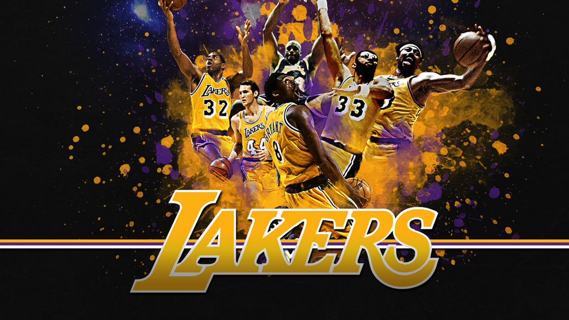 HD Backgrounds Los Angeles Lakers | 2019 Basketball Wallpaper