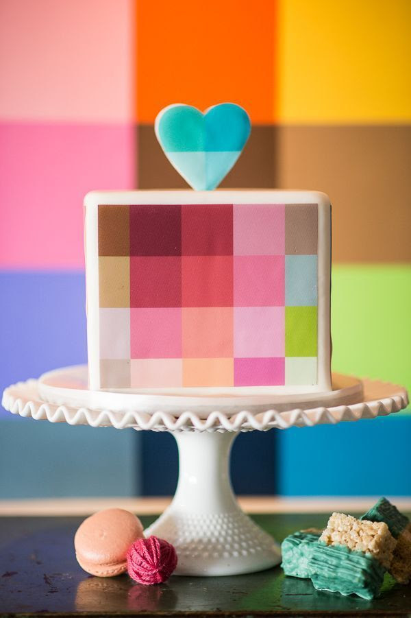 geometry cake