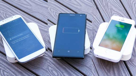 ARK - The Next Generation Portable Wireless Charger by BEZALEL