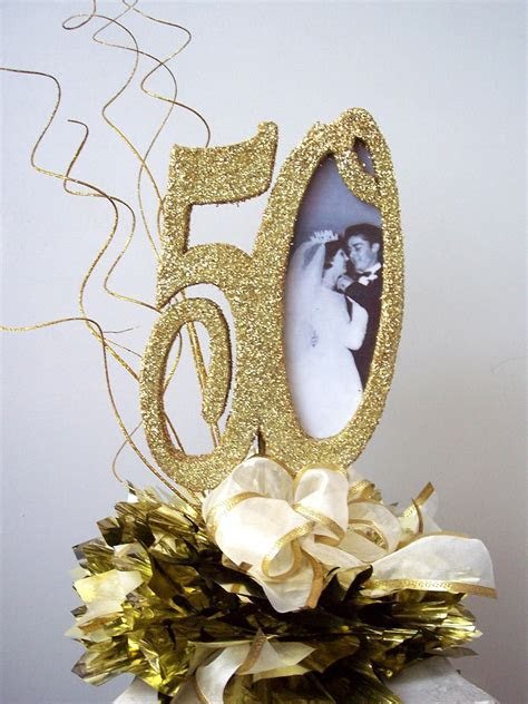 50th wedding anniversary table decorations     shower