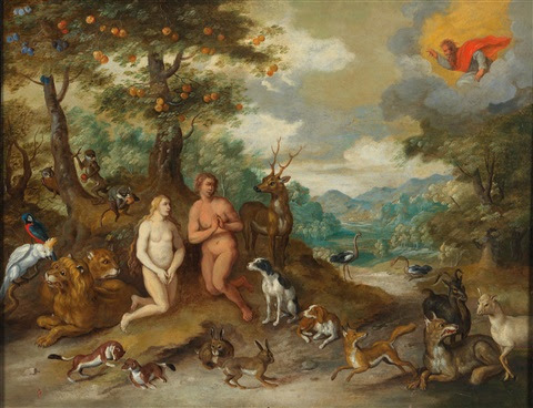 Pictures Of Adam And Eve In The Garden Of Eden