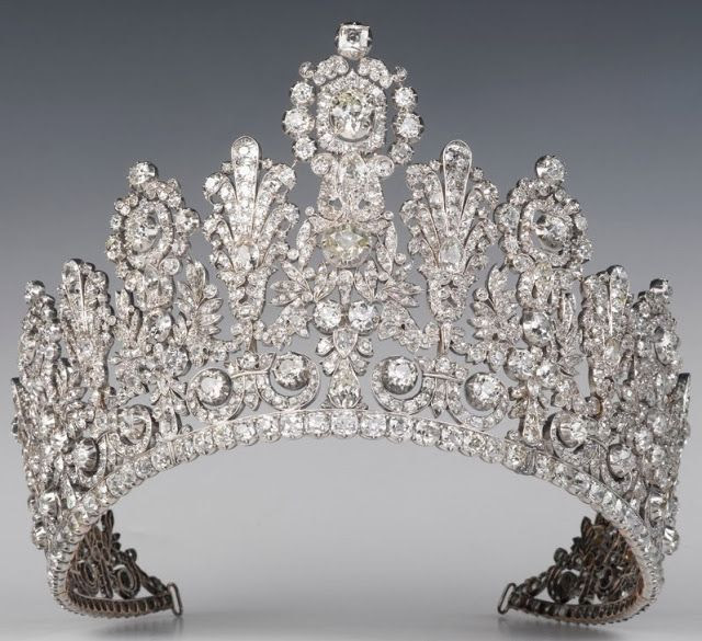 Luxembourg Empire Tiara, undated/uncredited image.