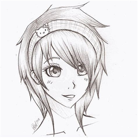 easy pencil drawings  anime awesome pencil sketch