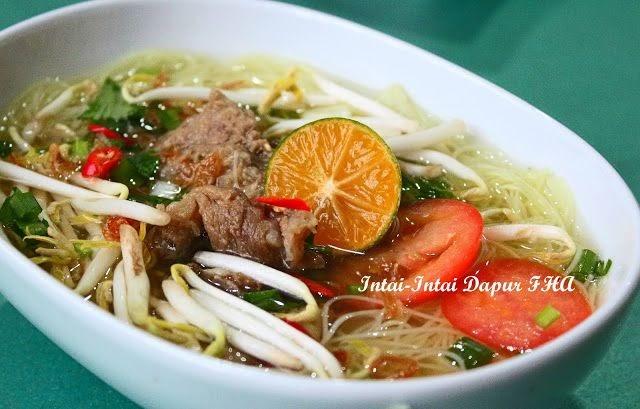 resepi bihun  begedil surasmi Resepi Sup Ayam Kiub Maggi Enak dan Mudah