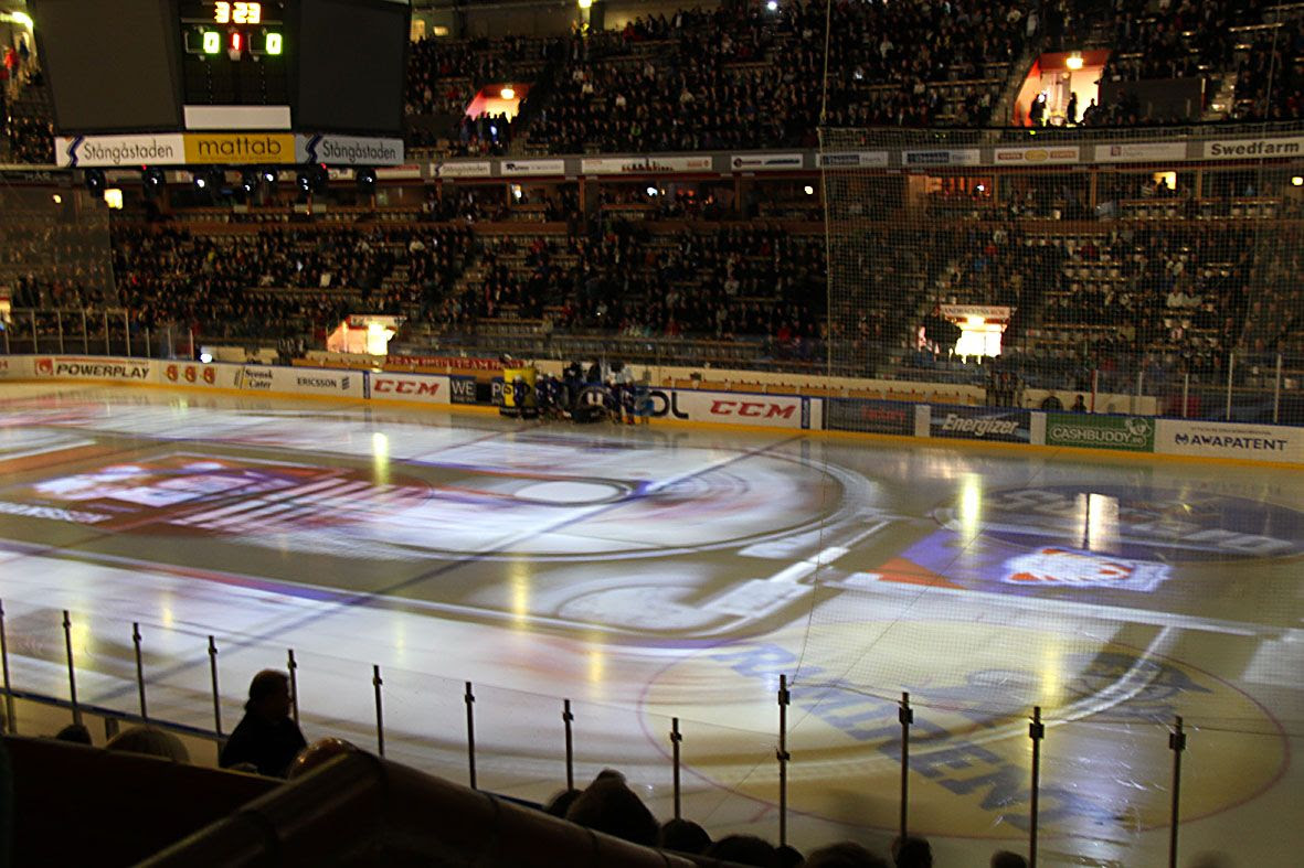 11.6, The light show before the ice hockey game started