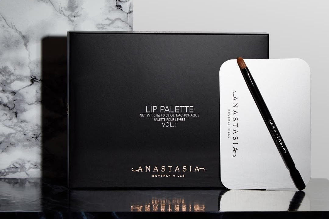 Anastasia Beverly Hills Lip Palette Swatches