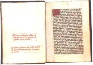 San Antonio de Padua. La vida y milagros dei bien aventurado Sancto. 1490 Portugal 300x211 Incunables y otros libros que conquistan a los coleccionistas