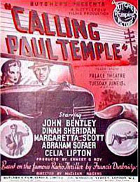 Calling Paul Temple: poster