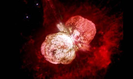 科学家观测到110亿光年外最遥远超新星爆发(图)