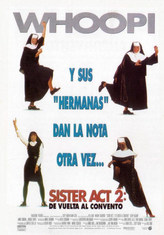póster de la película Sister act 2: de vuelta al convento