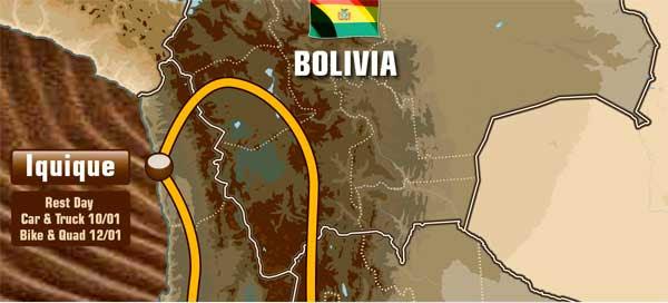 ¿Dakar 2015 por Villazón?