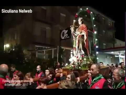 Festa di Santa Lucia - Il Video della Processione.