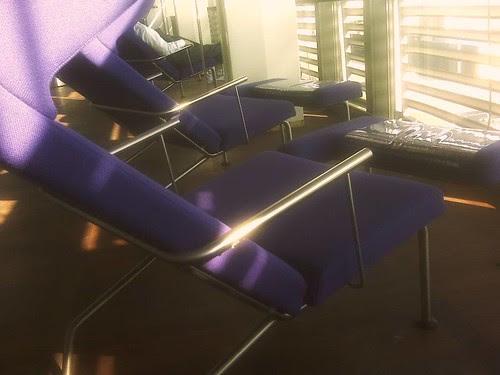 purple quiet lounge