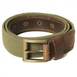 Barbour Stretch Webbing Belt Olive
