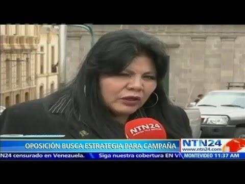 OPOSICIÓN BOLIVIANA BUSCA RESULTADO SIMILAR AL VISTO EN VENEZUELA Y ARGENTINA EN PRÓXIMO REFERENDO