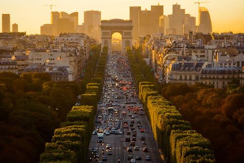 Paris 2007 Revisited - Up The Champs-Élysées por _Vee_