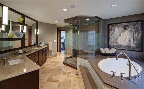 transitional bathroom design drury design