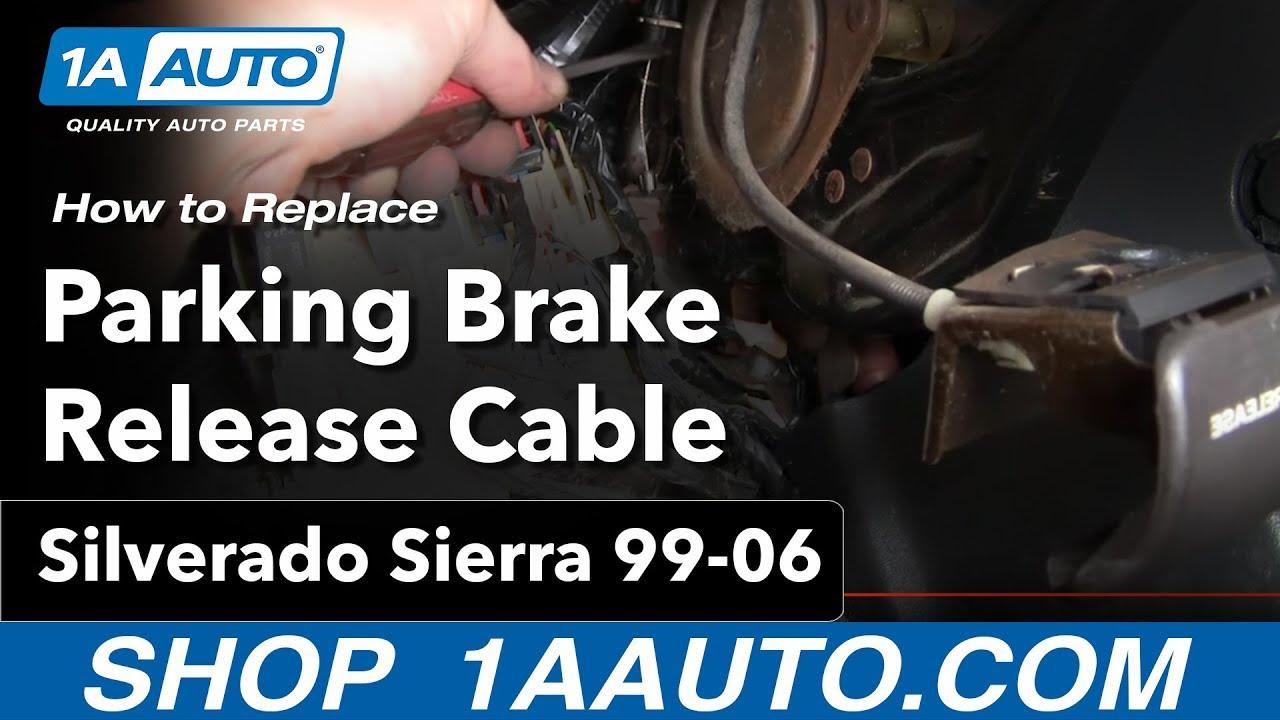 Wiring Diagram  9 2000 Chevy Silverado Emergency Brake
