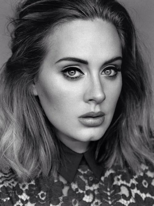 photoshoot Adele hello 25 when we were young Alasdair ...