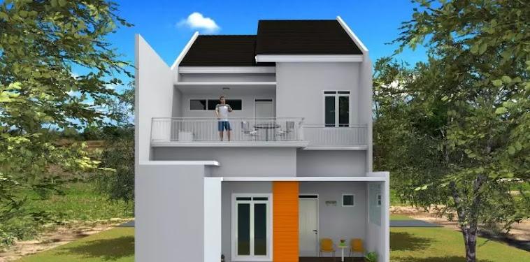 Kumpulan Gambar Rumah Minimalis Modern Lantai 2