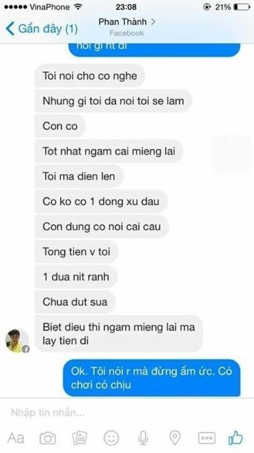 tin nhắn của các sao Việt, bóc trần sự thật showbiz Việt