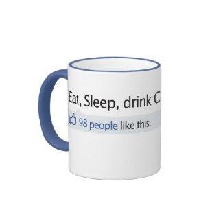 Coffee Mug Facebook thumbs up mug