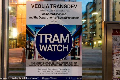 Tram Watch In Dublin by infomatique