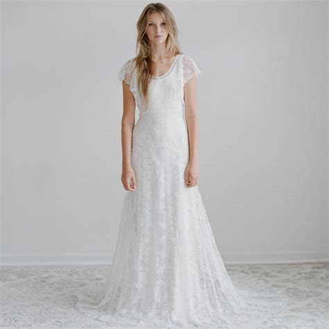 Casual Style Lace Wedding Dress Styles Of Wedding Dresses