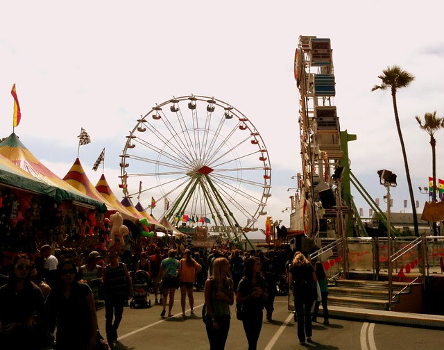 The Del Mar Fair.