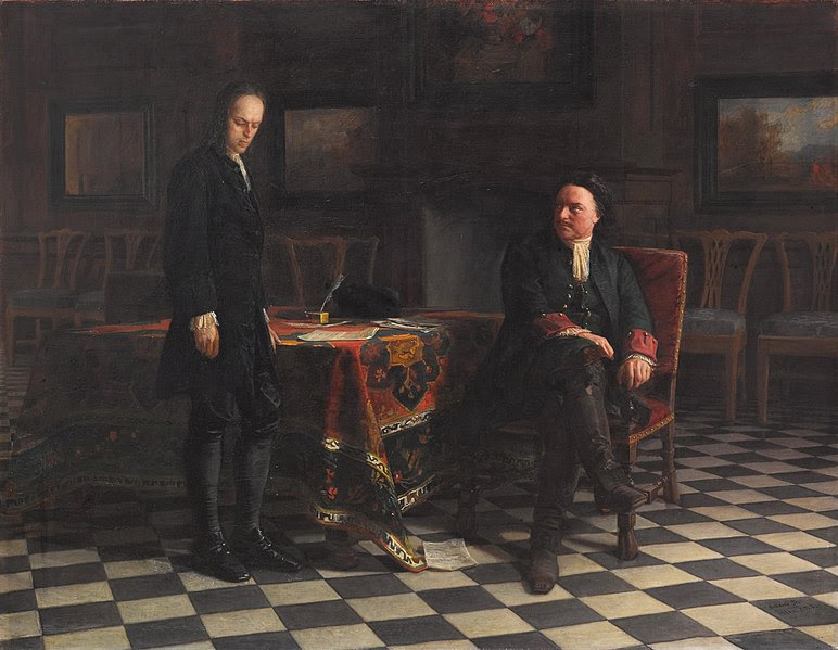 File:Peter the Great Interrogating the Tsarevich Alexei Petrovich.jpg