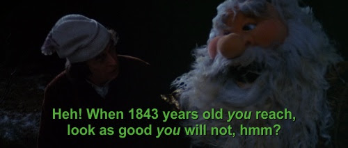 When 1843 years old you reach, look as good you will not.