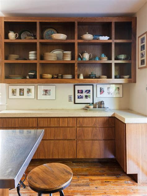 images  beautifully organized open kitchen shelving diy