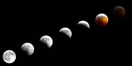 Total Lunar Eclipse Dec 20th over Alaska December 2010