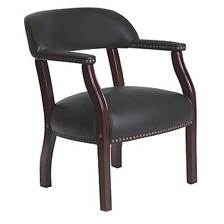 Tecno Seating Traditional Captains Chair without Casters ...