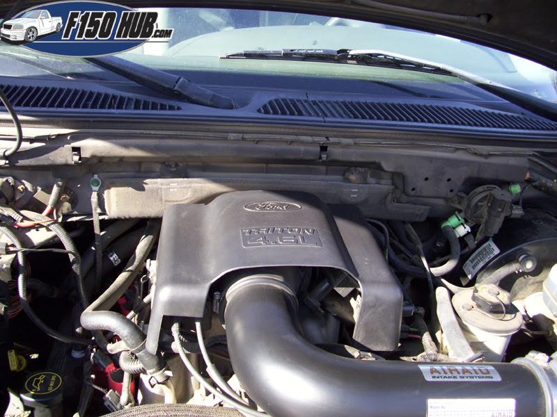 2001 Ford F 150 Engine 46 L V8