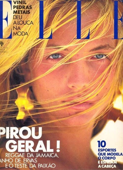 Rachel Williams  -  Elle Brazil 1989