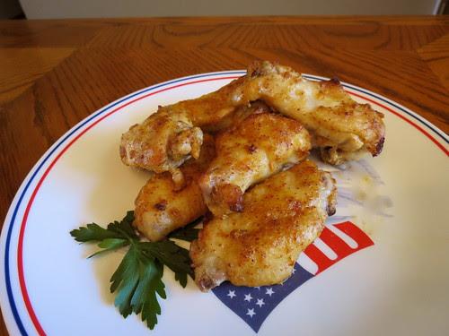 Mustard Chicken Wings