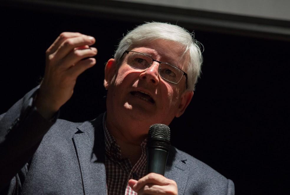 Rodrigo Janot em evento da Abraji, em São Paulo (Foto: Paulo Lopes/Futura Press/Futura Press/Estadão Conteúdo)