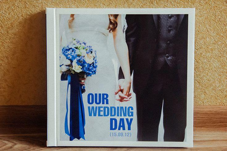 Wedding photobook :) I love making them!